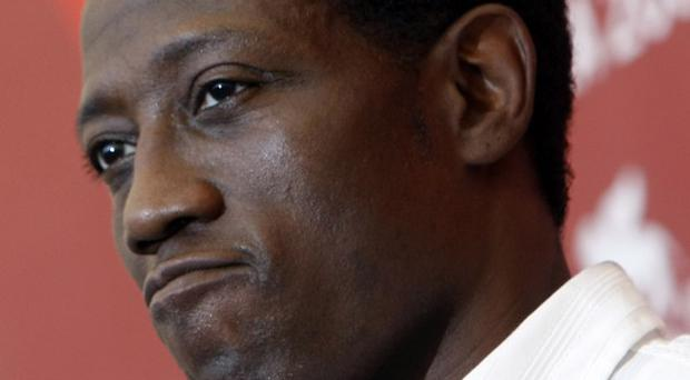 Wesley Snipes has arrived at prison to begin his three-year sentence(AP)