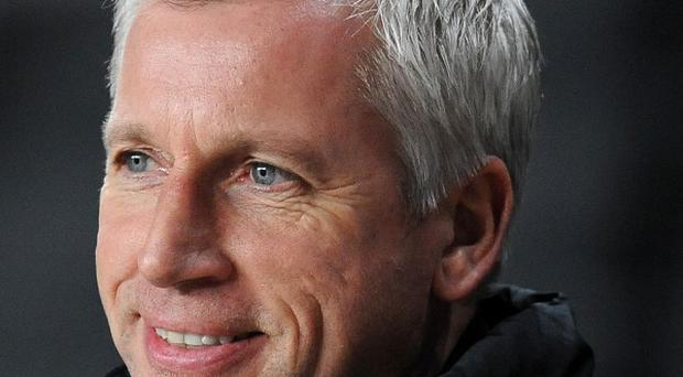 Alan Pardew has been named Newcastle United manager