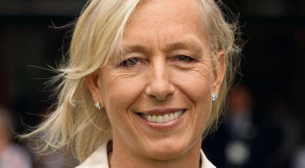 Martina Navratilova, who fell ill during a charity climb of Mount Kilimanjaro, has been discharged from hospital
