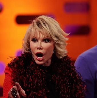 Joan Rivers says she loves comedians who go too far
