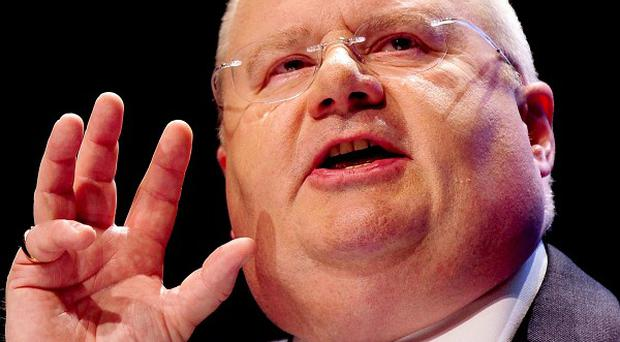 Eric Pickles has outlined the spending cuts that local councils face