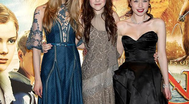 Laura Brent, Georgie Henley and Anna Popplewell star in The Voyage Of The Dawn Treader