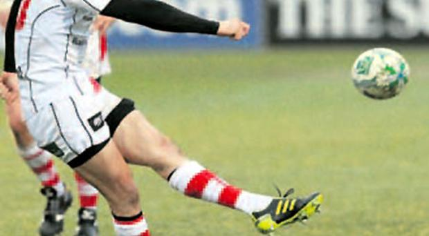 Just doing his job: Ulster's specialist kicker Ian Humphreys