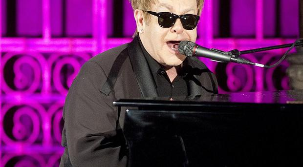 Sir Elton John was 'very close' to being killed by drugs, he says in a television interview