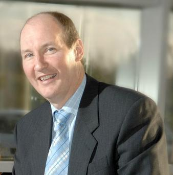 Outward looking: Almac boss Alan Armstrong is proud of the company's strong export record