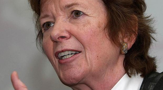 Mary Robinson is on the shortlist for the Tipperary Peace Award