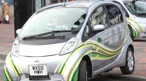 The Mitsubishi i-MiEV is among nine electric cars eligible for a 25 per cent Whitehall-paid grant