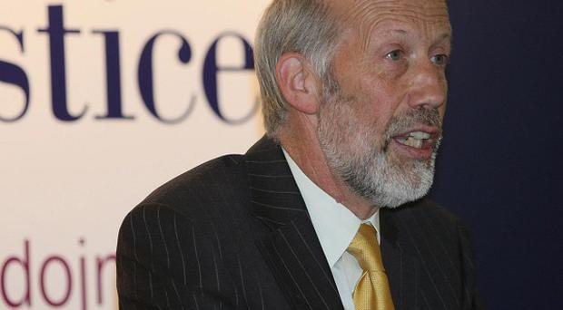 Justice Minister David Ford has condemned a pipebomb attack