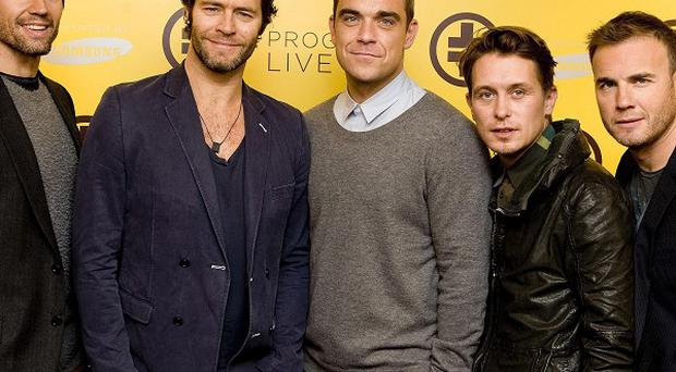 Take That originally planned to perform Kidz, it's claimed