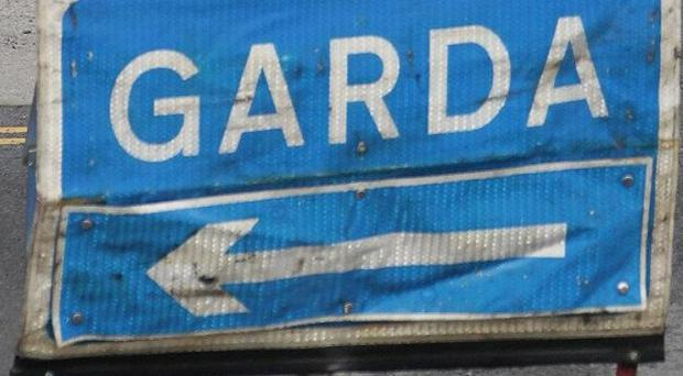 Two masked raiders armed with a handgun smashed their way into a post office on Main Street, Clane, Co Kildare