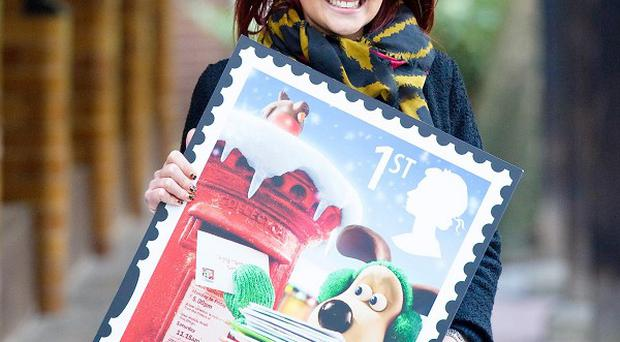 Royal Mail enlisted Lacey Turner to help remind people to get their Christmas cards out on time