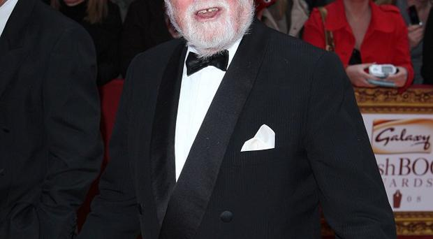 Richard Attenborough has been voted top movie Santa