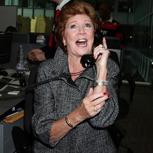 Cilla Black says she is in a 'really good point' in her life
