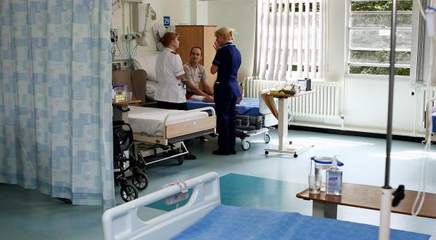 The Government has pledged to fine any hospitals who fail to end the use of mixed-sex wards