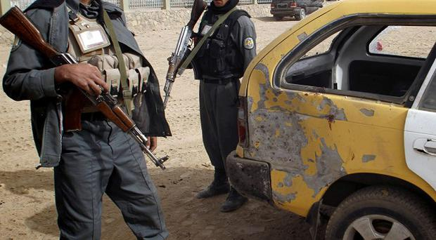 A roadside bomb has claimed 14 lives in western Afghanistan (AP)