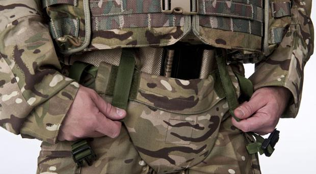 Defence Clothing team's new protector to provide increased protection around the pelvic area
