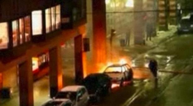 The man believed to be responisble for the car bomb in Stockholm may have been aided by others, Swedish security service says (AP/APTN)