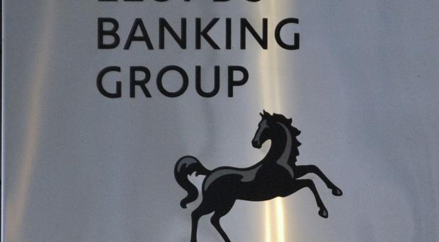 Lloyds Banking Group said Ireland's debt crisis will affect its performance this year