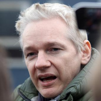 Julian Assange says his life is 'under threat'