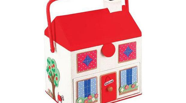 <b>House Sewing Basket</b><br/> In these straitened times it's useful for us all to be able to sew on a button and repair the odd rip so this sweet little house has a compartmentalised tray and elasticated pouch inside for keeping needles, thread, buttons and bits of elastic.<br/> <b>Where</b> 08450 262 440; www.cathkidston.co.uk <br/> <b>How much</b> £35