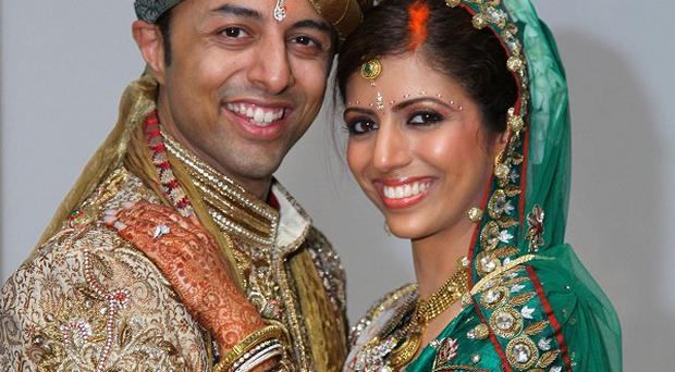 Shrien Dewani with wife Anni who was shot dead last month as they visited a township in South Africa