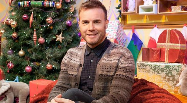 Gary Barlow will read a bedtime story on Christmas Eve