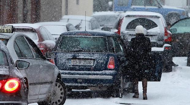 Overnight temperatures are to plummet as low as minus 15C in parts this week