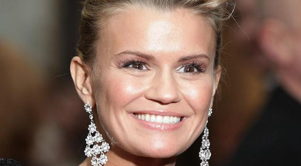 Kerry Katona says training for Dancing On Ice has been 'complete therapy'