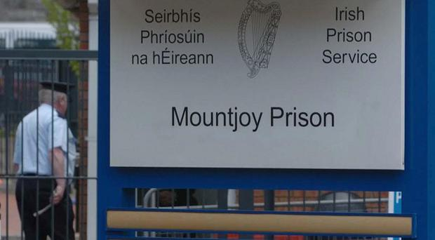 A prison officer has been arrested after being found trying to smuggle cannabis into Mountjoy prison