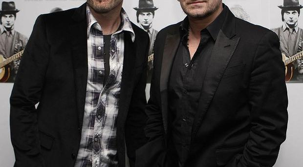 The Edge and Bono wrote the music for Broadway musical Spider-Man