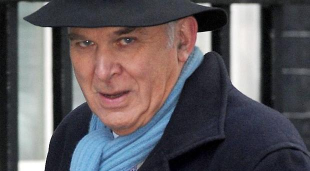 Business Secretary Vince Cable has privately suggested he could leave the coalition Government if he is 'pushed too far'