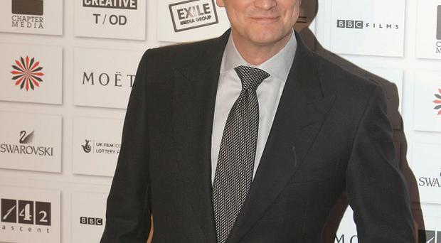 Colin Firth has picked up a best actor award for The King's Speech