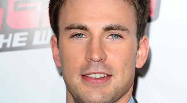 Chris Evans has high hopes for Captain America