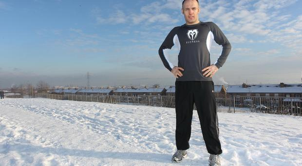 Brian Magee: The big freeze has not halted preparations for his fight with Lucien Bute for the IBF super-middleweight title