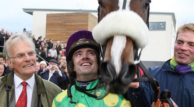Ruby Walsh with Kauto Star