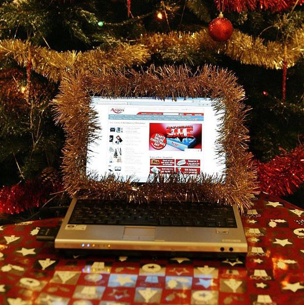 Shoppers could spend more than £150 million online on Christmas Day for the first time this year