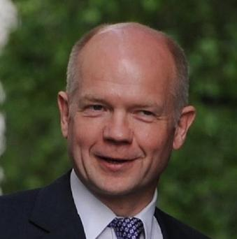 Foreign Secretary William Hague has hailed the signing of a US-Russian nuclear arms control treaty