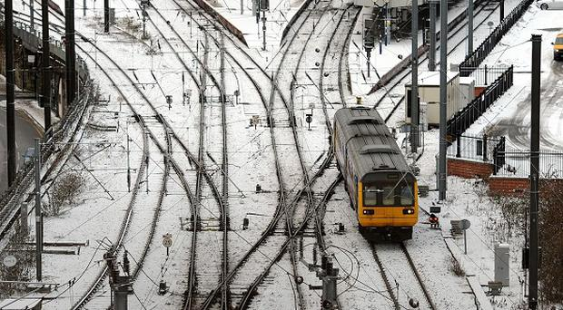Train passengers trying to get home for Christmas will be hit by a reduced service from three rail operators