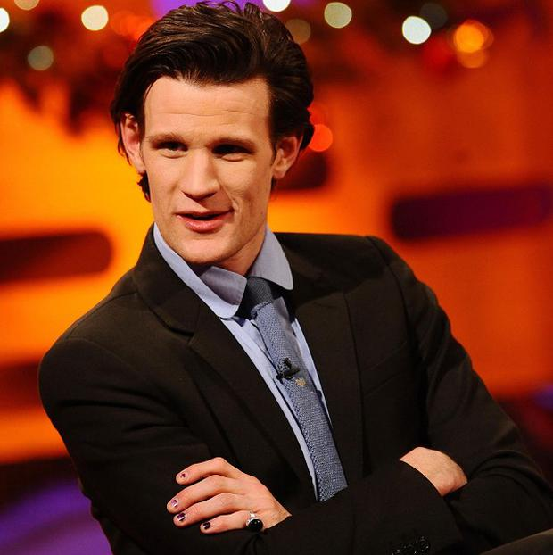 Matt Smith told Graham Norton about some saucy fan mail