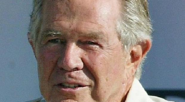 US evangelist Pat Robertson said Haiti was 'cursed' due to a voodoo 'pact with the devil' (PA)