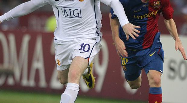 Wayne Rooney (left) and Lionel Messi (right)