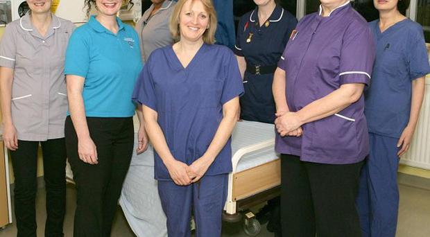 The team of midwives who will deliver Channel 4's alternative to the Queen's Christmas Day broadcast