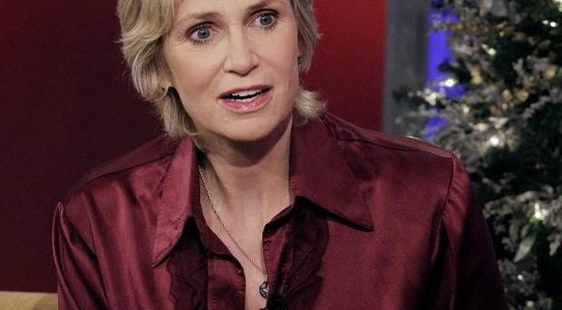 Jane Lynch says Glee fans should prepare themselves for a major Sue Sylvester hissy fit