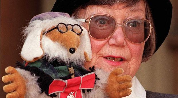 Wombles-creator Elisabeth Beresford, who has died at the age of 84