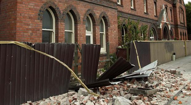 Earthquake in Christchurch caused minor damage but no injuries (AP)