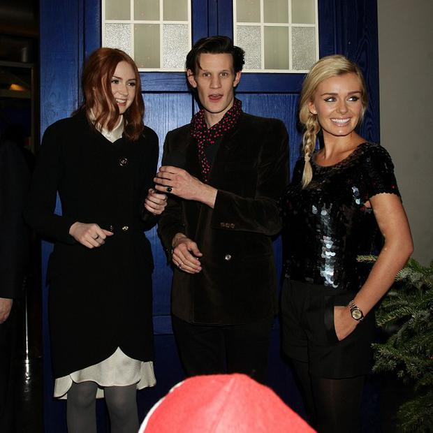 Matt Smith liked to sing to Katherine Jenkins on the set of Doctor Who