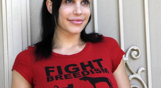 'Octomom' Nadya Suleman faces eviction proceedings from her home (AP)