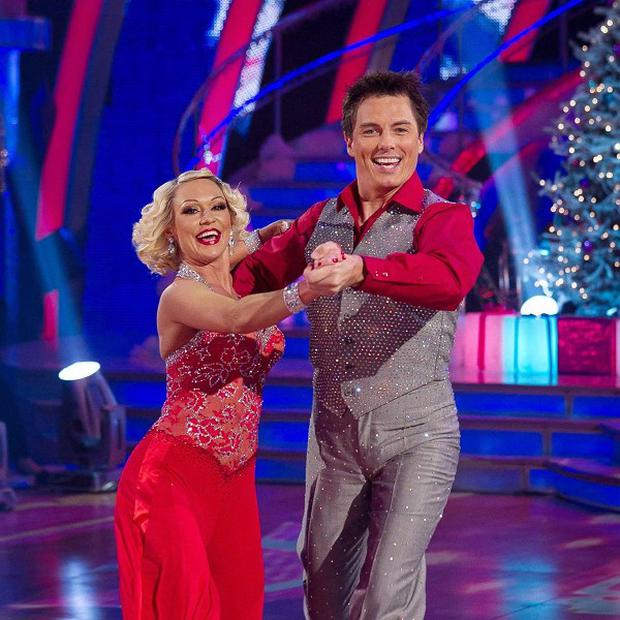 John Barrowman and Kristina Rihanoff performed a 'dazzling' quickstep