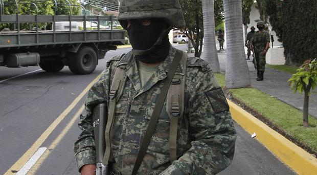 Police in the Mexican resort of Acapulco found the decapitated bodies of two men (AP)