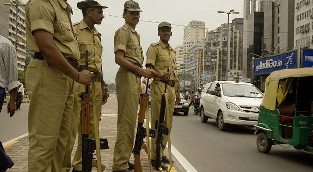 Security has been stepped up in towns and cities across India after authorities received information of a planned terrorist attack